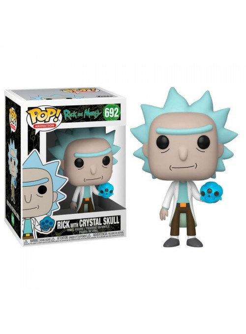 Figura Funko PoP Rick with...