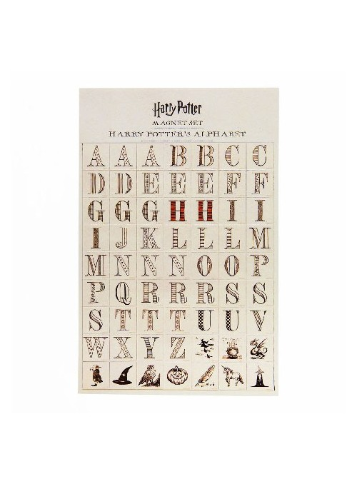 Alphabet Magnet Set - Harry...