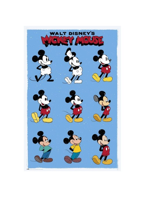 Póster Mickey Mouse...