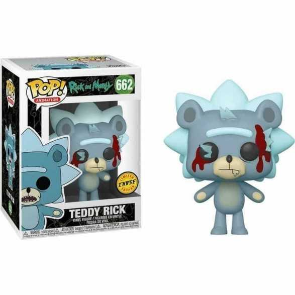 Figura Funko POP Teddy Rick (Chase) - Rick and Morty