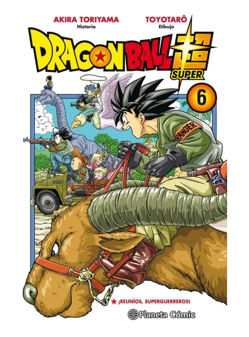 Dragon Ball Super Nº 6-...