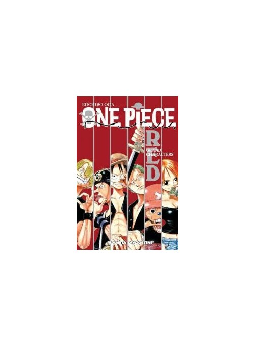 One Piece Guia Red - One Piece