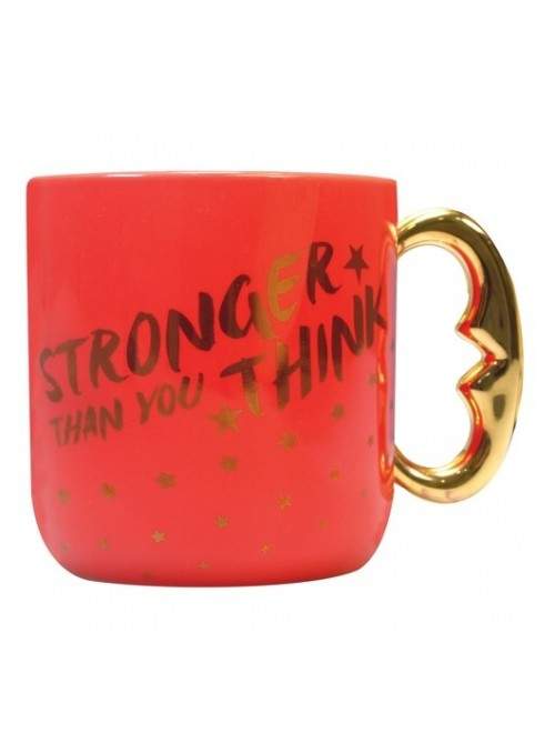 Taza 3D Stronger than you...