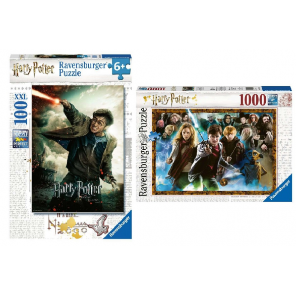 Pack puzzles HP 100 piezas - Harry...