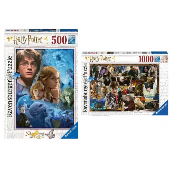 ¡OFERTA MÁGICA! Pack puzzles Harry...
